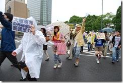 7月1日横浜デモ①