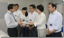 7月13日南関東防衛局交渉①