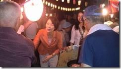 8月3日盆踊り④握手
