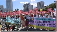 横須賀集会⑦沖縄連帯オスプレイNO