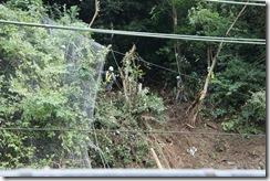 9月25日事故現場④午後まだ続いている撤去作業