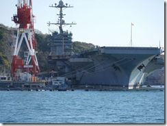 12月13日GW横須賀基地に停泊