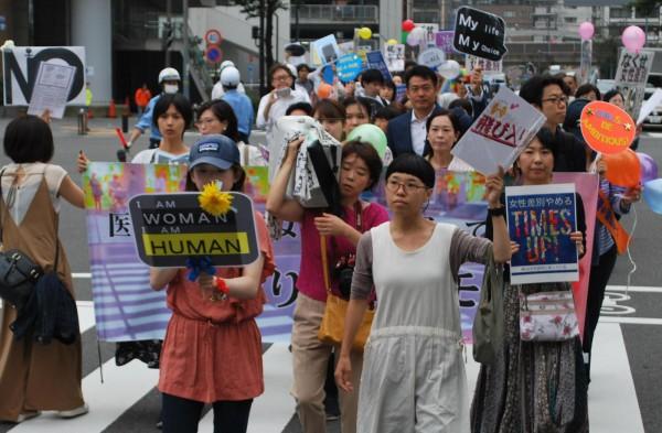 9月22日女性の怒りのデモ