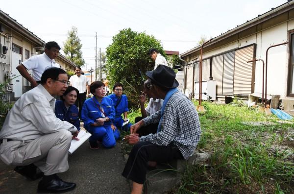 9月11日若葉区台風被害調査